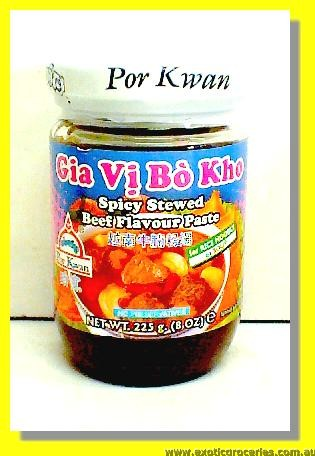 Spicy Stewed Beef Flavour Paste