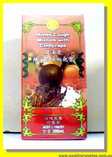 Honey Cough Mixture with Cordyceps