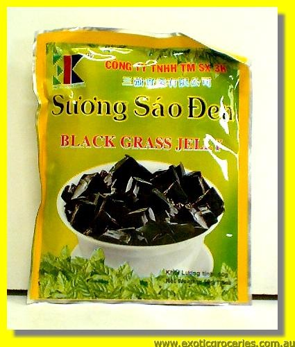 Black Grass Jelly Powder