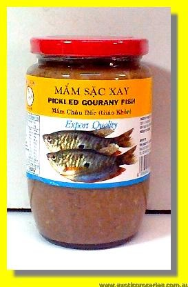 Pickled Gourany Fish Mam Sac Xay