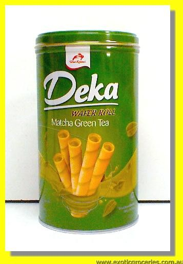 Deka Matcha Green Wafer Roll
