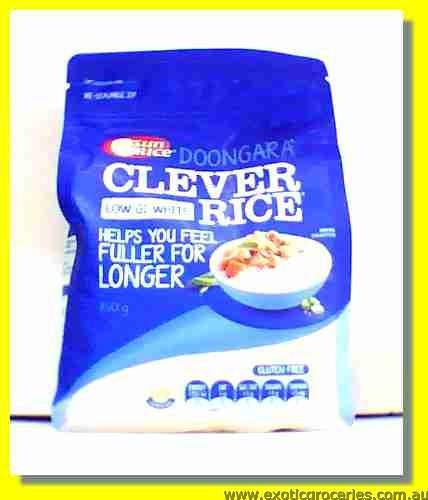 Clever Rice Doongara Low GI White Rice (Gluten Free)