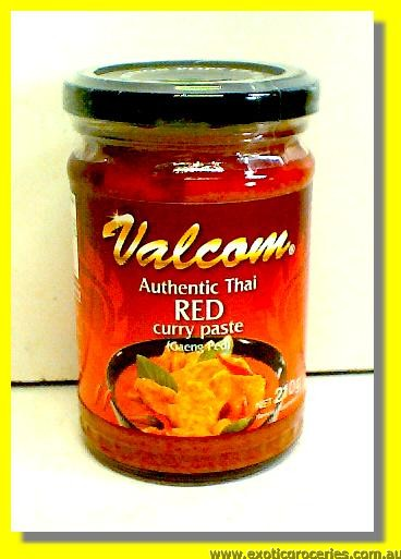 Authenic Thai Red Curry Paste