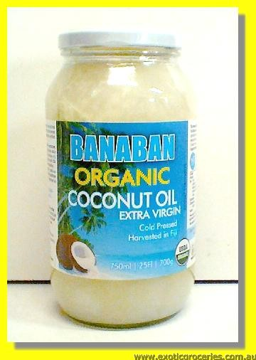 Banaban Extra Virgin Organic Coconut Oil