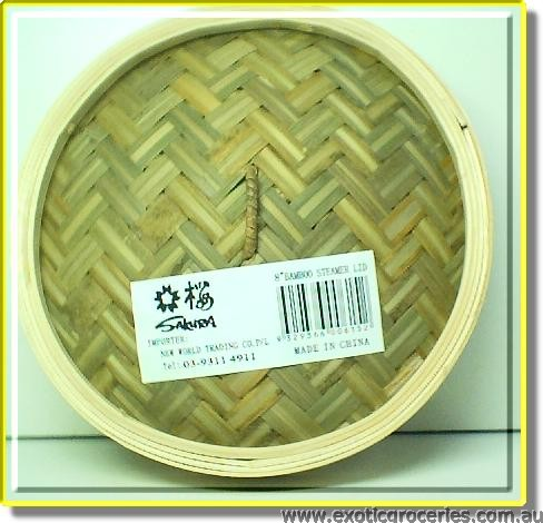 Bamboo Steamer Lid 5 in