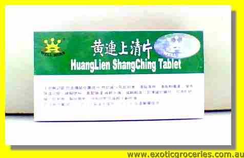 Huang Lien Shang Ching Tablet Uncoated