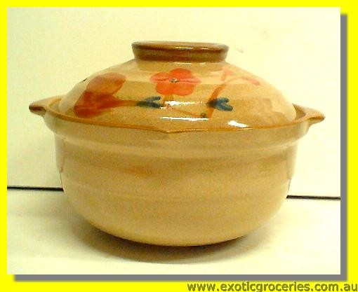 Japanese Style Clay Pot 19cm