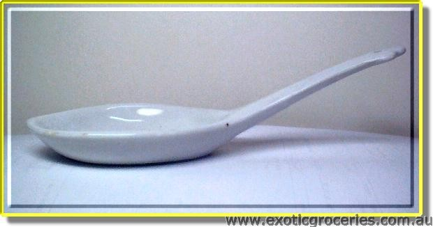 Large White Spoon