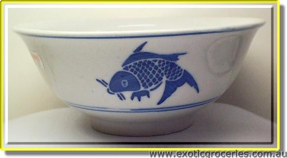 Blue Fish Bowl 15cm