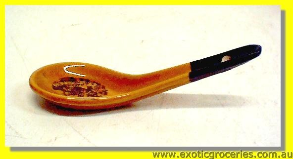 Yellow Qing Ming Spoon #3