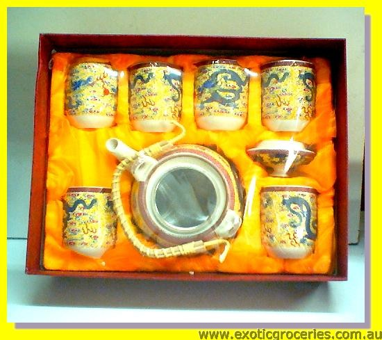 7pcs Tea Set