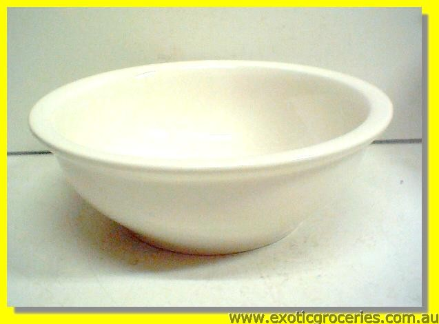 Large White Soup Bowl 23cm