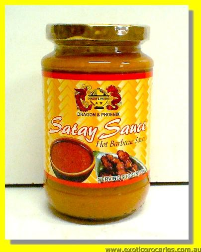 Satay Sauce Hot Barbecue Sauce