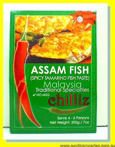 Assam Fish (Spicy Tamarind Fish Paste)