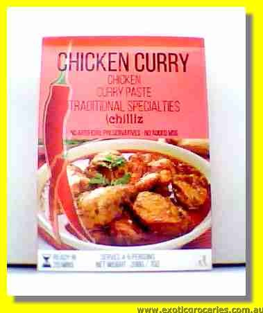 Chicken Curry (Curry Chicken Paste)