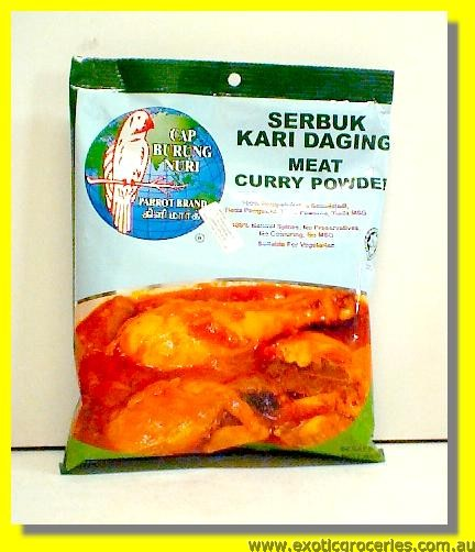 Meat Curry Powder Serbuk Kari Daging