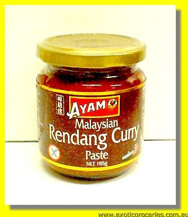 Malaysian Rendang Curry Paste Medium