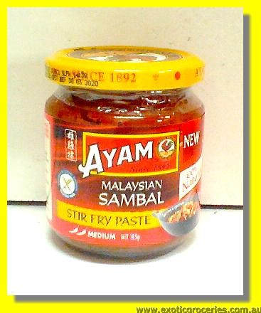 Malaysian Sambal Stir Fry Paste Medium Hot