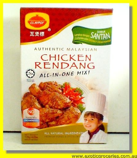 Chicken Rendang Mix