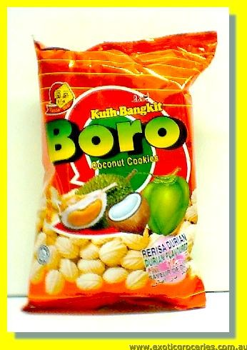 Boro Coconut Cookies Durian Flavoured